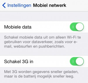 Afbeelding mobiel internet